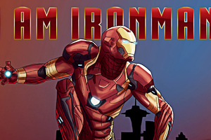 Ironman New Art Wallpaper