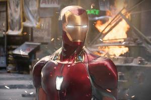 Ironman Prime Armor Wallpaper