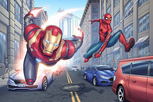Ironman Spiderman