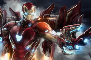 Ironman4kart Wallpaper