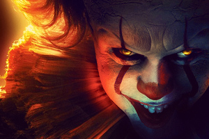 It Chapter Two 2019 4k Pennywise Wallpaper