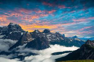Italian National Park 4k