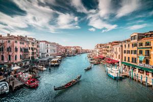 Italy Boats Venice Canal 5k Wallpaper