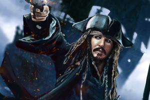 Jack Sparrow 5k Artwork
