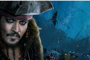 Jack Sparrow Pirates Of The Caribbean Dead Men Tell No Tales 4k Wallpaper