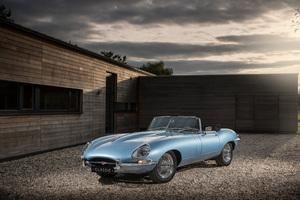 Jaguar E Type Zero 2017 Wallpaper