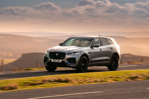 Jaguar F Pace R Dynamic Black Pack 2021 Wallpaper