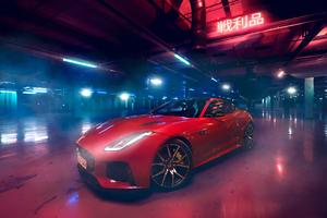 Jaguar F Type 2018 4k