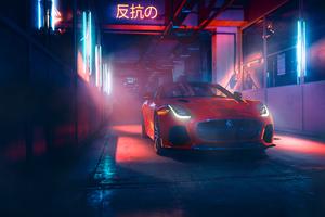 Jaguar F Type 2018 Front