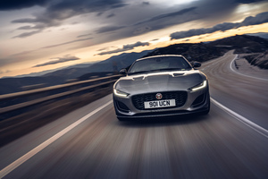 Jaguar F Type P300 Coupe First Edition 4k