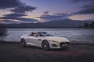 Jaguar F Type P450 R Dynamic Convertible 2020 Wallpaper