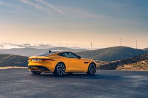 Jaguar F Type R Coupe 5k Wallpaper