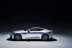 Jaguar F Type SVR Graphic Pack Coupe 2018 Side View