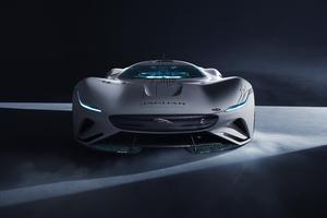 Jaguar Vision Gran Turismo SV 2021 Wallpaper