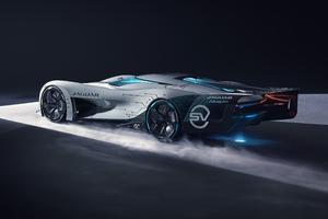 Jaguar Vision Gran Turismo SV Rear View