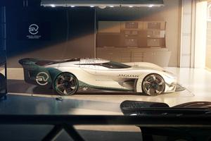 Jaguar Vision Gran Turismo SV Side View Wallpaper