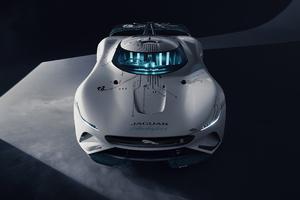 Jaguar Vision Gran Turismo SV Wallpaper