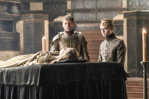 Jaime Lannister and Tommen Lannister