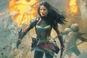 Jaimie Alexander In Thor Wallpaper