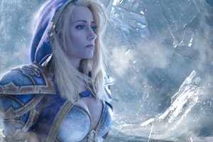 Jaina Proudmoore Warcraft Cosplay Wallpaper