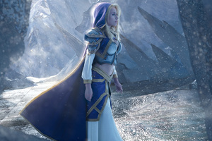 Jaina Proudmoore Warcraft Wallpaper