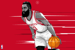 James Harden Artwork Wallpaper