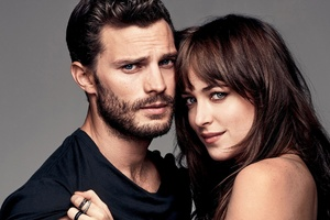 Jamie Dornan And Dakota Johnson Wallpaper