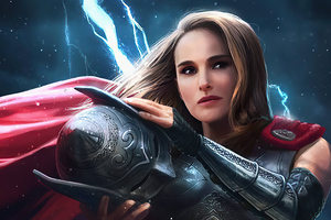 Jane Foster 4k 2020 Wallpaper