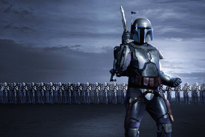 Jango Fett Star Wars 5k Wallpaper