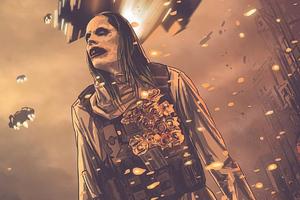 Jared Leto Joker Artwork 4k Wallpaper