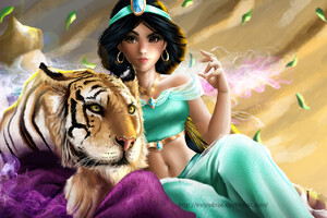 Jasmine And Rajah Wallpaper