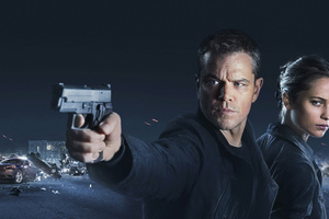 Jason Bourne 2016 Movie Wallpaper