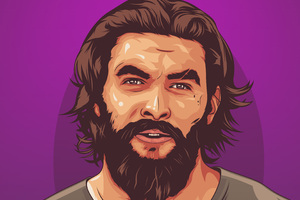 Jason Momoa Artwork