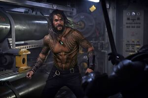 Jason Momoa In Aquaman 2018 Movie Wallpaper