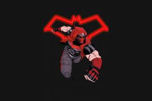 Jason Todd Red Hood Minimal 4k Wallpaper