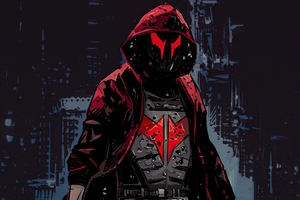 Jason Todd The Red Hood 4k Wallpaper