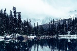 Jasper National Park Alberta Canada 5k Wallpaper