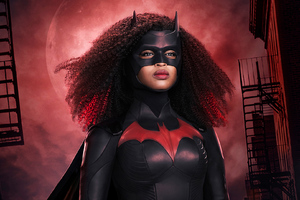 Javicia Leslie As Ryan Wilder Batwoman Wallpaper