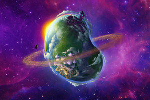 Jb Planet 4k Wallpaper