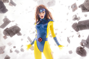 Jean Grey Cosplay 4k Wallpaper