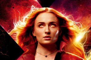 Jean Grey X Men Dark Phoenix 4k