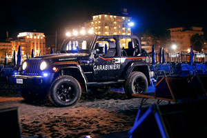 Jeep Wrangler Carabinieri 4k Wallpaper