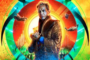 Jeff Goldblum Thor Ragnarok 12k Wallpaper