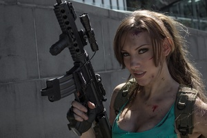 Jenncroft Lara Croft Wallpaper