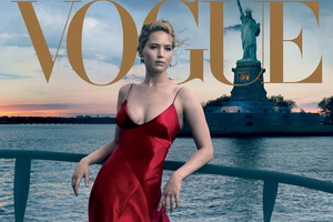 Jennifer Lawrence 2017 Vogue Wallpaper