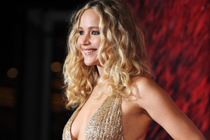 Jennifer Lawrence At Premiere In London