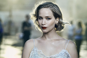 Jennifer Lawrence For Vanity Fair Wallpaper