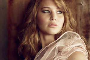 Jennifer Lawrence Glamour Uk 4k Wallpaper