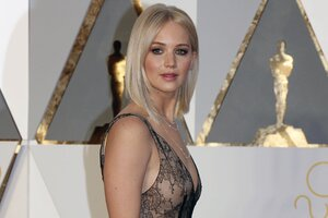 Jennifer Lawrence Oscar 2016 Wallpaper