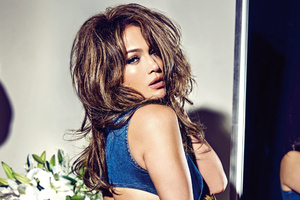 Jennifer Lopez Guess Campaign 2018 Photoshoot